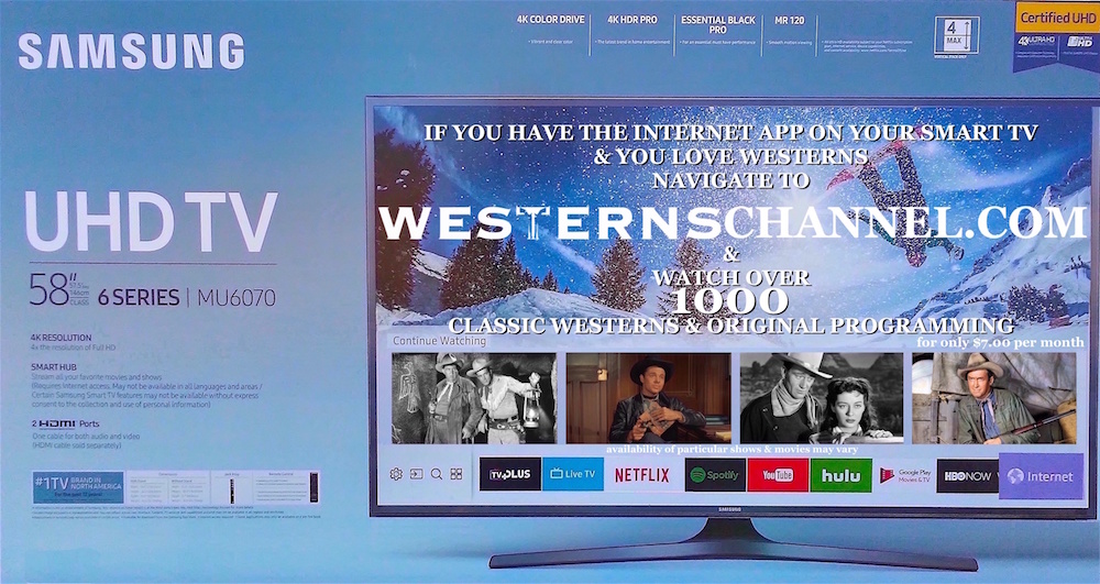 What's on Westerns Channel – The Westerns Channel